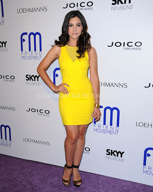 WWW.ACEPIXS.COM<br /> <br /> July 1 2013, LA<br /> <br /> Camila Banus at the Friend Movement Campaign benefit concert at the El Rey Theatre on July 1, 2013 in Los Angeles, California<br /> <br /> By Line: Peter West/ACE Pictures<br /> <br /> <br /> ACE Pictures, Inc.<br /> tel: 646 769 0430<br /> Email: info@acepixs.com<br /> www.acepixs.com