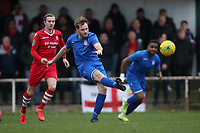 James Goode of Aveley during Hornchurch vs Aveley, Buildbase FA Trophy Football at Hornchurch Stadium on 11th January 2020