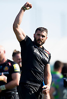 Exeter Chiefs' Don Armand at the final whistle<br /> <br /> Photographer Bob Bradford/CameraSport<br /> <br /> Aviva Premiership Play-Off Semi Final - Exeter Chiefs v Newcastle Falcons - Saturday 19th May 2018 - Sandy Park - Exeter<br /> <br /> World Copyright &copy; 2018 CameraSport. All rights reserved. 43 Linden Ave. Countesthorpe. Leicester. England. LE8 5PG - Tel: +44 (0) 116 277 4147 - admin@camerasport.com - www.camerasport.com