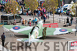 Listowel Military Tattoo: The replica Spitfire that was built by members of the Listowel Military group & Ballyduff mens shed on display in the Square over the weekend.