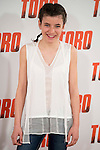 """Claudia Canal attends to the presentation of the spanish film """"Toro"""" at Hotel Hesperia in Madrid, April 19,2016. (ALTERPHOTOS/Borja B.Hojas)"""