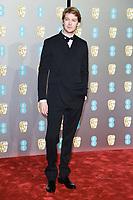 Joe Alwyn<br /> arriving for the BAFTA Film Awards 2019 at the Royal Albert Hall, London<br /> <br /> ©Ash Knotek  D3478  10/02/2019