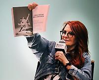 Megan Mullally 6/1/2018<br /> 2018 Book Expo at the Javitz Center<br /> Photo By John Barrett/PHOTOlink/MediaPunch