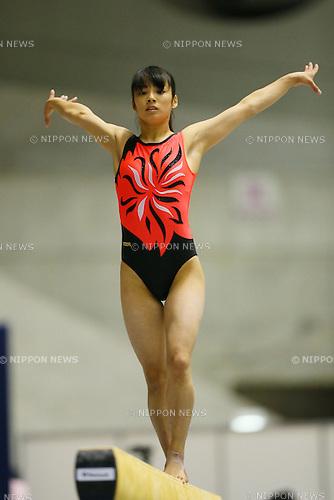 Mizuho Nagai, <br /> NOVEMBER 29, 2015 - Artistic Gymnastics : <br /> The 69th All Japan Artistic Gymnastics Team Championship <br /> Women's Final <br /> Balance Beam <br /> at Yoyogi 1st Gymnasium, Tokyo, Japan. <br /> (Photo by YUTAKA/AFLO SPORT)