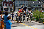 Parade in Rockport, Maine, USA