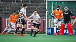 AMSTELVEEN -  Fergus Kavanagh (Adam)  tijdens de play-offs hoofdklasse  heren , Amsterdam-Bloemendaal (0-2).    COPYRIGHT KOEN SUYK