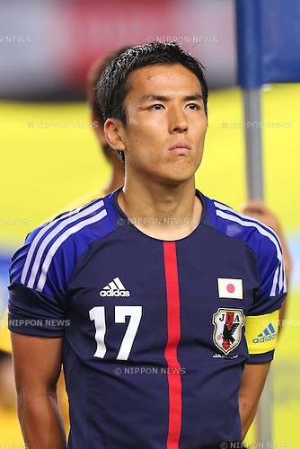 Makoto Hasebe (JPN), AUGUST 14, 2013 - Football / Soccer : <br /> KIRIN Challenge Cup 2013 match <br /> between Japan 2-4 Uruguay <br /> at Miyagi Stadium, Miyagi, Japan.<br />  (Photo by AFLO SPORT)