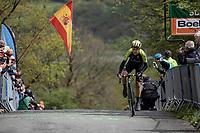 Annemiek Van Vleuten (NED/Mitchelton Scott) topping the La Redoute climb & well on her way to winning the 3th Liège-Bastogne-Liège-Femmes 2019 (1.WWT)<br /> <br /> 1 Day Race: Bastogne – Liège 138.5km<br /> <br /> ©kramon