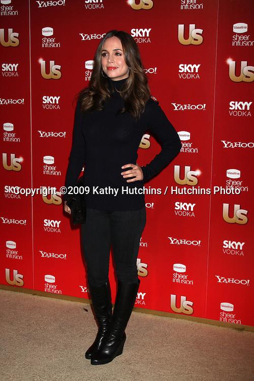 Eliza Dushku.arriving at the 2009 US Weekly Hot Hollywood Party.Voyeur.West Hiollywood,  CA.November 18, 2009.©2009 Kathy Hutchins / Hutchins Photo.