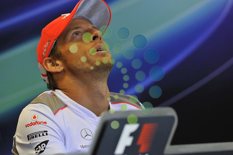Formula 1 Race 12, GP of Belgium, Spa-Francorchamps - 31.08.-02.09.2012.Jenson Button (GBR),  McLaren F1 Team  ..Hasan Bratic;Koblenzerstr.3;56412 Nentershausen;Tel.:0172-2733357;.hb-press-agency@t-online.de;http://www.uptodate-bildagentur.de;.Veroeffentlichung gem. AGB - Stand 09.2006; Foto ist Honorarpflichtig zzgl. 7% Ust.; Steuer-Nr.: 30 807 6032 6;Finanzamt Montabaur;  Nassauische Sparkasse Nentershausen; Konto 828017896, BLZ 510 500 15;SWIFT-BIC: NASS DE 55;IBAN: DE69 5105 0015 0828 0178 96; Belegexemplar erforderlich!.