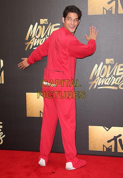 09 April 2016 - Burbank, California - Tyler Posey. 2016 MTV Movie Awards held at Warner Bros. Studios. <br /> CAP/ADM/SAM<br /> &copy;SAM/ADM/Capital Pictures