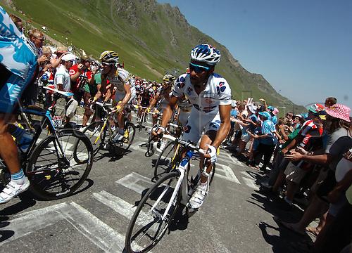 2009, Tour de France, tappa 09 Saint Gaudens - Tarbes, Francaise des Jeux, Casar Sandy, Tourmalet July 11th 2009.  Stage 9 (Photo: Stefano Sirotti/ActionPlus)