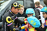 Thomas Voeckler (FRA) Direct Energie at sign on before the start of Stage 3 of the Tour de Yorkshire 2017 running 194.5km from Bradford/Fox Valley to Sheffield, England. 30th April 2017. <br /> Picture: ASO/P.Ballet | Cyclefile<br /> <br /> <br /> All photos usage must carry mandatory copyright credit (&copy; Cyclefile | ASO/P.Ballet)