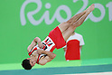 Kenzo Shirai (JPN), <br /> AUGUST 3, 2016 - Artistic Gymnastics : <br /> Men's Official Training <br /> Floor Exercise <br /> at Rio Olympic Arena <br /> during the Rio 2016 Olympic Games in Rio de Janeiro, Brazil. <br /> (Photo by YUTAKA/AFLO SPORT)