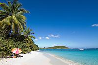 Hawksnest Beach.Virgin islands National Park.St. John, US Virgin Islands