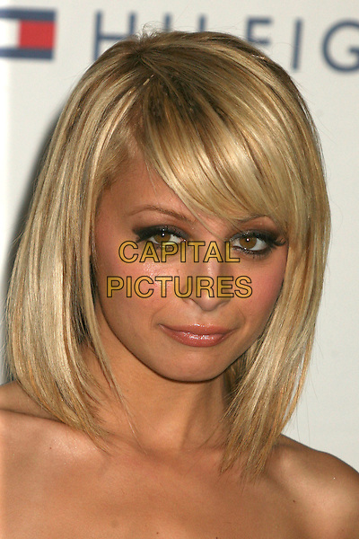 """NICOLE RICHIE.14th Annual Race to Erase MS Themed """"Dance to Erase MS"""" at the Century Plaza Hotel, Century City, California, USA, 13 April 2007..portrait headshot strapless dress fringe blonde bob hair .CAP/ADM/BP.©Byron Purvis/AdMedia/Capital Pictures."""