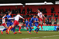 Ben Wilmot of Stevenage goes close during Stevenage vs Crewe Alexandra, Sky Bet EFL League 2 Football at the Lamex Stadium on 10th March 2018
