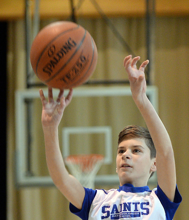(Holyoke, MA, 02/13/16) MD Saints basketball in Holyoke on Saturday, February 13, 2016. Photo by Christopher Evans