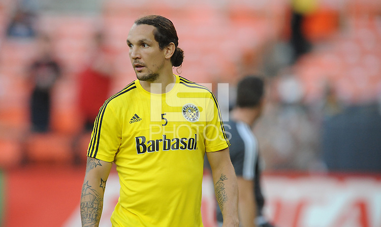 Washington D.C. - September 19, 2015: The Columbus Crew SC defeated D.C. United 2-1 during a game of the 2015 Major League Soccer season at RFK Stadium.