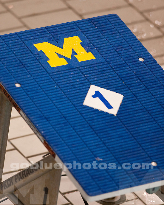 University of Michigan men's swimming and diving 134.5-108.5 victory over Purdue at Canham Natatorium in Ann Arbor, MI, on January 16, 2011.
