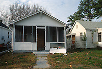 1992 January ..Conservation.Cottage Line..EXISTING CONDITIONS.9411 CHESAPEAKE STREET...NEG#.NRHA#..