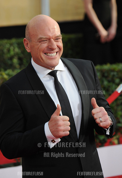 Dean Norris at the 20th Annual Screen Actors Guild Awards at the Shrine Auditorium.<br /> January 18, 2014  Los Angeles, CA<br /> Picture: Paul Smith / Featureflash