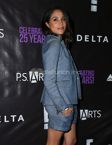 LOS ANGELES, CA - MAY 20: Meghan Markle attends P.S. Arts' The pARTy at NeueHouse Hollywood on May 20, 2016 in Los Angeles, California. Credit: Parisa/MediaPunch.