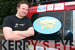 John Moriarty from Fossa is setting off this week to travel from Ireland to Mongolia in his chosen vehicle as part of the Mongol charity rally 2010.