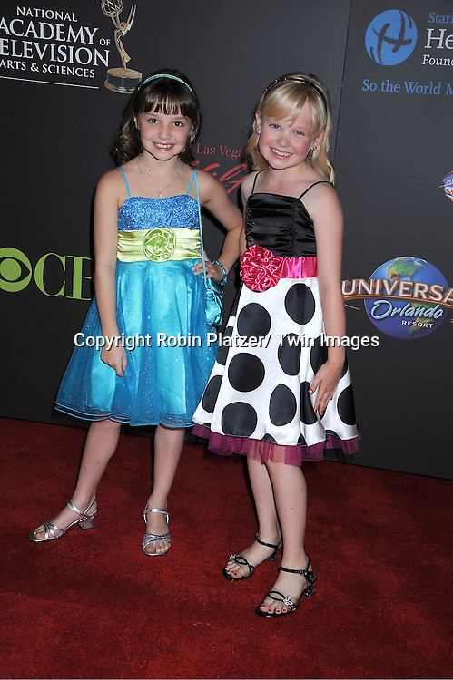 kids from All My Children arriving at the 38th Annual Daytime Emmy Awards  on June 19, 2011 at The Las Vegas Hilton in Las Vegas Nevada. ..