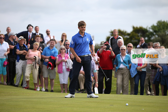 BRADLEY NEIL (Blairgowrie) wins the 119th Amateur Championship Match Play FInal defeating Zander Lombard (South Africa) 2&1 from Royal Portrush Golf Club, Portrush, Northern Ireland. Picture:  David Lloyd / www.golffile.ie