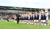PICTURE BY VAUGHN RIDLEY/SWPIX.COM - Rugby League - 2013 International Origin - England v Exiles - Halliwell Jones Stadium, Warrington, England - 14/06/13 - The England Squad.