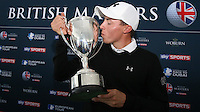 Matthew Fitzpatrick (ENG) is the winner of the Final Round of the British Masters 2015 supported by SkySports played on the Marquess Course at Woburn Golf Club, Little Brickhill, Milton Keynes, England.  11/10/2015. Picture: Golffile | David Lloyd<br /> <br /> All photos usage must carry mandatory copyright credit (© Golffile | David Lloyd)