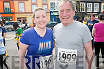 Father and Daughter Sabrina and Denis Horgan who took part in this year Jack and Jill run in Kenmare on Saturday.