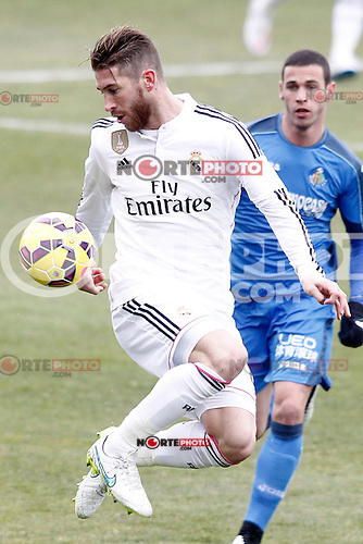 Real Madrid's Sergio Ramos during La Liga match.January 18,2013. (ALTERPHOTOS/Acero) /NortePhoto<br />