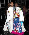 Mark Cassius & 'The Gershwins' Porgy & Bess' Recipient J.D. Webster.attending the Opening Night Actors' Equity Gypsy Robe Ceremony for Recipient Mark Cassius from 'Jesus Christ Superstar' at the Neil Simon Theatre, New York City. 3/22/2012