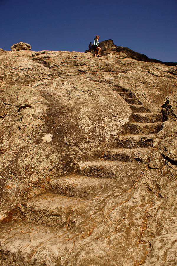 Indian Rock Steps, Berkeley, California