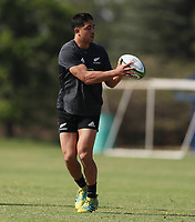 PRETORIA, SOUTH AFRICA - OCTOBER 05: Anton Lienert-Brown during the Rugby Championship New Zealand All Blacks captain's run at St David's Marist Inanda in Sandown, South Africa on Friday, October 5, 2018. Photo: Steve Haag / stevehaagsports.com