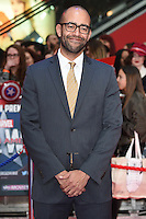 Producer, Nate Moore<br /> arrives for the European premiere of &quot;Captain America: Civil War&quot; at Westfield, Shepherds Bush, London<br /> <br /> <br /> &copy;Ash Knotek  D3111 26/04/2016