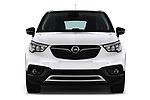 Car photography straight front view of a 2018 Opel Crossland X Innovation 5 Door SUV