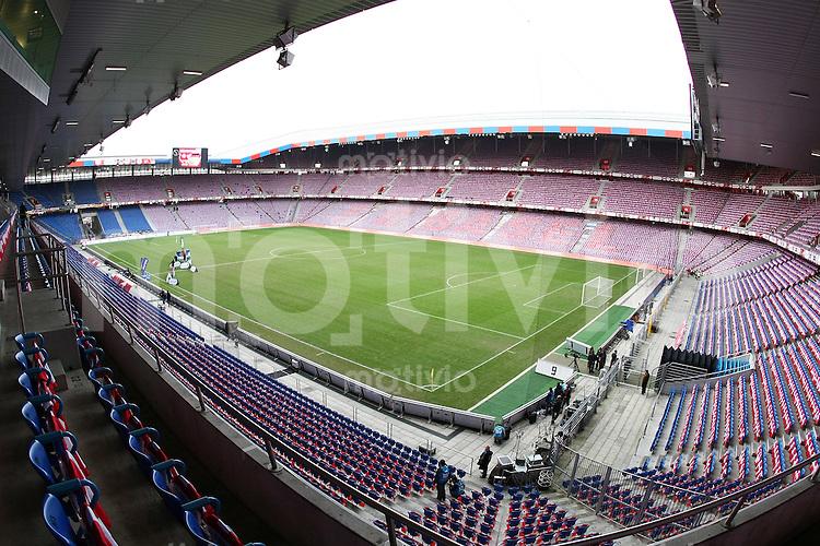 Fussball     International     Testspiel    26.03.2008 Schweiz  -  Deutschland  Stadionuebersicht St. Jakobspark Basel