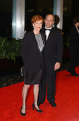 Carol Burnett, left, arrives with Brian Miller, right, for a dinner hosted by United States Secretary of State Colin Powell celebrating the 2001 Kennedy Center Honorees Van Cliburn, Julie Andrews, Jack Nicholson, Quincy Jones, and Luciano Pavarotti at the U.S. Department of State in Washington, D.C. on Saturday, December 1, 2001..Credit: Ron Sachs / CNP