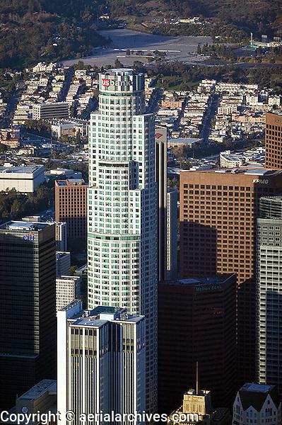 aerial photograph US Bank Los Angeles, California