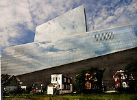 atlantic city, the revel casino, old and new, contrast,
