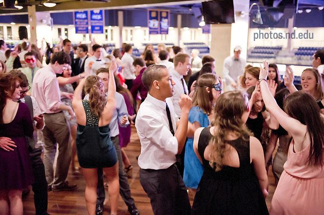 Apr. 6, 2013; Walsh Hall dance at O'Brien's..Photo by Matt Cashore/University of Notre Dame