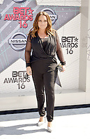 LOS ANGELES, CA - JUNE 26: Angie Martinez at the 2016 BET Awards at the Microsoft Theater on June 26, 2016 in Los Angeles, California. Credit: Koi Sojer/MediaPunch