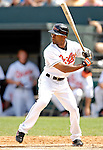 9 March 2007: Baltimore Orioles outfielder Corey Patterson in action against the Washington Nationals at Fort Lauderdale Stadium in Fort Lauderdale, Florida. <br /> <br /> Mandatory Photo Credit: Ed Wolfstein Photo