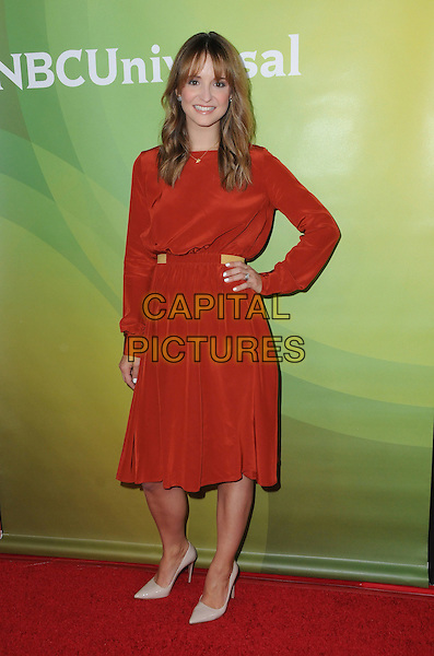17 January 2017 - Pasadena, California - Leah Wyar. 2017 NBCUniversal Winter Press Tour held at the Langham Huntington Hotel. <br /> CAP/ADM/BT<br /> &copy;BT/ADM/Capital Pictures