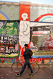 USA, California, San Francisco, The Mission, Clarion Alley Mural Project