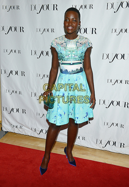 11 January 2014 - West Hollywood, California - Lupita Nyong'o. DuJour Great Performances Issue Pre Golden Globes Event held at the Mondrian.<br /> CAP/ADM/CC<br /> &copy;Christine Chew/AdMedia/Capital Pictures