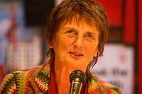 Ela Rule speaking at the Memorial Meeting honouring Godfrey Cremer's life, Saklatvala Hall, Southall, 12th May 2012
